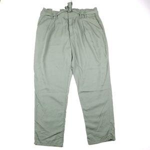 Gap Plus Size High Waist Tie Pants